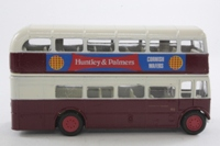 Corgi Classics D599/3; AEC RT Double Deck Bus (1:64); Leicester City Transport; Rt 30 Highway Rd