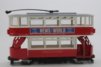 Corgi Classics 98153; Double Deck Tram, Closed Top, Open Platform; London Transport; Ilford Broadway