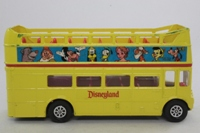 Corgi C470; AEC Routemaster Double-Decker Open-top Bus; Yellow, Disneyland