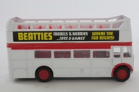 Corgi Classics D599; AEC RT Double Deck Bus (1:64); Open Top, Private Hire, Beatties Model Shops