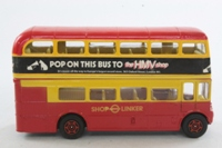 Corgi Classics 469; AEC Routemaster Bus; London Transport; Shop Linker; Kightsbridge, Regent St, Oxford St