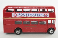 Corgi Classics TY82311; AEC Routemaster Bus; London Transport; Rt 2 Crystal Palace, Swiss Cottage, Baker St, Victoria, Vauxhall, Brixton, Herne Hill, Norwood