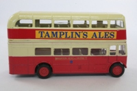 Corgi Classics D599/10; AEC RT Double Deck Bus (1:64); Brighton Hove & District, Rt 7B Hove Station, Cromwell Rd, Seven Dials, Brighton Stn, Old Seine, Kemp Town