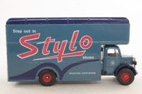 Corgi Classics C953/9; Bedford O Series Pantechnicon; Stylo Shoes, Grey/Blue