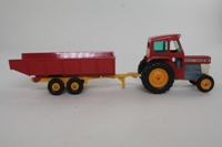 Matchbox King Size K-3/3; Massey Ferguson 165 Tractor & Trailer Set