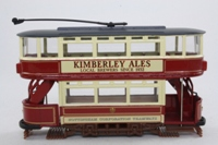 Corgi Classics CC25205; Double Deck Tram, Closed Top, Open Platform; Nottingham Corporation Tramways; Market Place