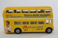 Corgi Classics 476; AEC Routemaster Bus; British Telecom, Buzby, Dial Your Chicks After Six