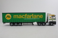 Corgi Trucks CC13429; MAN TGA XXL; Artic Curtainside: Macfarlane