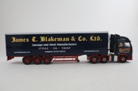 Corgi Classics CC14027; Volvo FH Artic; Fridge Trailer, James T Blakeman & Co Ltd, Stoke on Trent