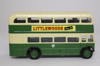 Corgi Classics 96983; AEC RT Double Deck Bus (1:64); Liverpool Corporation; Route 46 Penny Lane
