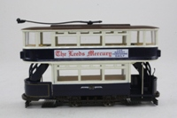 Corgi Classics 36802; Double Deck Tram, Closed Top, Open Platform; Leeds City Transport; Elland Road via Corn Exchange