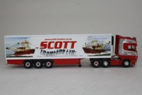 Corgi Classics CC13705; Scania Topline; Fridge Trailer, Scott Trawlers Ltd