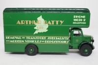 Corgi Classics D953/14; Bedford O Series Pantechnicon; Arthur Batty Ltd, Bradford