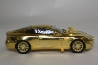 Corgi Classics CC07505; James Bond's Aston Martin Vanquish; Die Another Day; Gold Plated