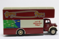 Corgi Classics 18301; Bedford O Series Pantechnicon; Watts Bros of Beverley Yorks, Removals; Maroon/Cream