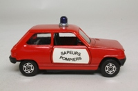Corgi 295; Renault 5 Sapeurs Pompiers; Red, Blue Beacon
