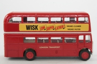 Corgi Classics 599; AEC RT Double Deck Bus (1:64); London Transport; Rt 152 Hampton Crt Stn, Kingston By-Pass, Raynes Park