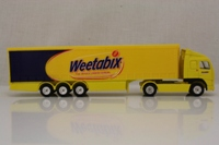 Corgi Classics TY86728; Volvo FH 1:64 Scale; Artic Curtainside Trailer, Weetabix
