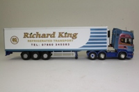 Corgi Classics CC13731; Scania Topline; Fridge Trailer, Richard King Refrigerated Transport Ltd, Preston, Lancs