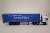 Corgi Classics CC14024; Volvo FH Artic; Open Curtainside Trailer, GA Newsome (Haulage) Ltd, Nantwich, Cheshire