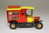 Models of Yesteryear YPC04-M; 1912 Ford Model T Van; Coca Cola