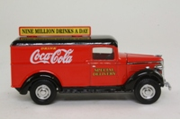 Matchbox Collectibles YPC02-M; 1937 GMC Van; Coca-Cola, Special Delivery