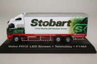 Eddie Stobart Collection; Volvo FH 6w Rigid, Mobile LED Screen
