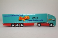 Corgi Classics 59573; ERF EC 1:64 Scale; Artic Curtainside Trailer, Mornflake Oats