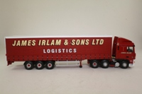 Corgi Classics CC13231; DAF XF Space Cab; Curtainside Trailer, James Irlam & Sons Ltd