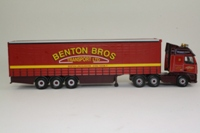 Corgi Classics CC14005; Volvo FH Artic; Curtainside Trailer, Benton Bros Transport Ltd, Boston