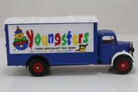 Corgi Classics 97124; Bedford O Series Van; Youngsters, Blue/White