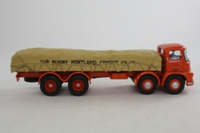 Corgi Classics 13905; Foden S21 Mickey Mouse; 8 Wheel Rigid Flatbed, Rugby Portland Cement; Sheeted Load