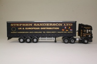 Corgi Classics CC12912; Scania Topline; Curtainside Trailer, Stephen Sanderson Ltd, Market Harborough