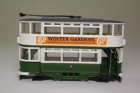 Corgi Classics 97262; Double Deck Tram, Closed Top, Closed Platform; Blackpool Corporation; Pleasure Beach