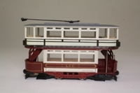 Corgi Classics 97268; Double Deck Tram, Closed Top, Open Platform; London County Council; Newcross via Peckham