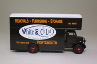 Corgi Classics 97088; Bedford O Series Pantechnicon; White & Co, Portsmouth, Removals