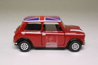 Corgi Classics TY82248; BL/Rover Mini; Cooper, Red, Union Jack Roof