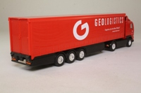 Corgi Classics 59553; Volvo FH 1:64 Scale; Artic Curtainside, Geologistics, LEP International