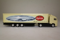 Corgi Superhaulers TY86717; Volvo FH 1:64 Scale; Artic Box Trailer, Ginsters