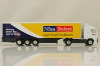 Corgi Superhaulers TY86721; Volvo FH 1:64 Scale; Artic Box Trailer, Nisa Today's