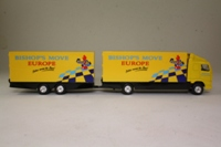 Corgi Superhaulers TY86712; Volvo FH 1:64 Scale; Rigid Truck & Trailer, Bishop's Move: Europe