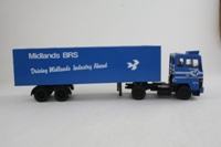 Corgi Classics 23001; Ford Transcontinental; Artic Box Trailer, Midlands BRS