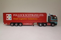 Corgi Classics CC13809; Mercedes-Benz Actros; Curtainside, Pollock Scotrans Ltd
