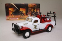 Models of Yesteryear YYM37636; 1946 Dodge Power Wagon; Brush/Field Fire Truck
