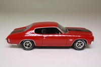 Matchbox Collectibles YMCO1-M; 1965 Chevrolet Chevelle SS; Brown, Black Stripes
