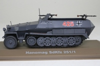 Atlas Editions Military Vehicles: Hanomag SdKfz 251/1 Half Track