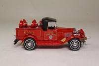 Matchbox Collectibles YFE12; 1930 Ford Model A Battalion Chief's Vehicle