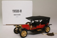 Models of Yesteryear YMS08-M; 1912 Simplex Tourabout; Red, 40th Anniversary of Yesteryear