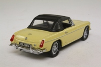 Matchbox Collectibles DYB05-M; 1967 MGB Roadster; Hood Up, Cream