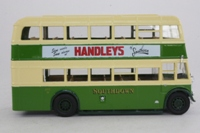 Corgi Classics 97198; Guy Arab Bus; Southdown, Geen/White: Route 37a Waterlooville